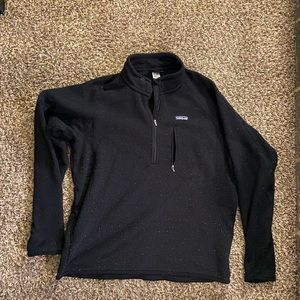 Patagonia 1/2 zip pullover jacket fleece top XL